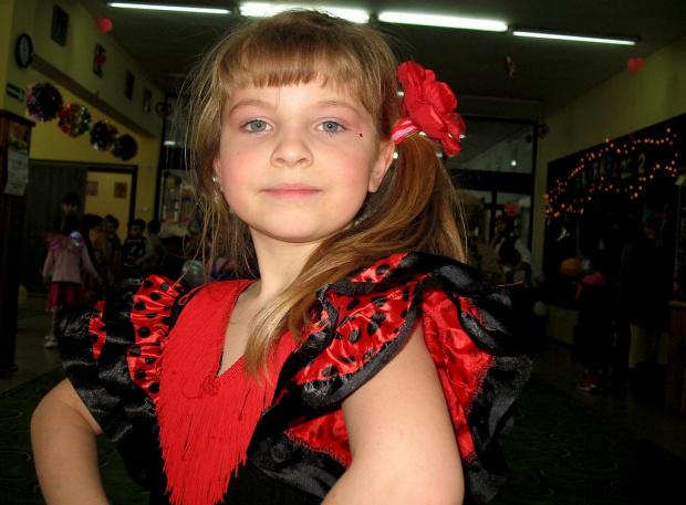 Dominika na ostatnim balu w przedszkolu (luty 2012) ... po wakacjach szkoła się zacznie :)) #bal #Dominika #przedszkole