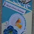 kartka z okazji chrztu św. #chrzest #KartkiRęcznieRobione