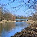 ... #Kłodnica #most #rzeka #wiosna