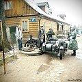 Gra Historyczna: Miejska Konspiracja; Suwałki, 01.04.2012 #Wehrmacht #Suwałki #motocykl