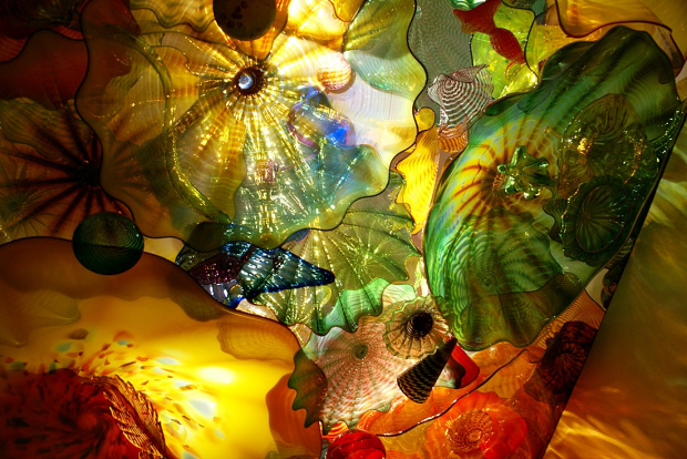 Dale Chihuly - wystawa w Museum of Fine Arts, Boston. http://www.chihuly.com/