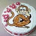 Małpka dla Filipka #małpka #małpa #ssak #tort #torty