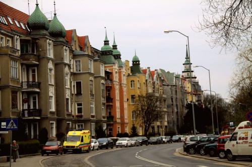 Ulica Słowackiego.