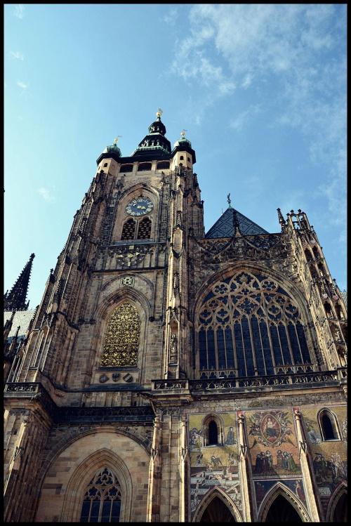 Katedra św.Wita #Praga #KatedraŚwWita #zabytki