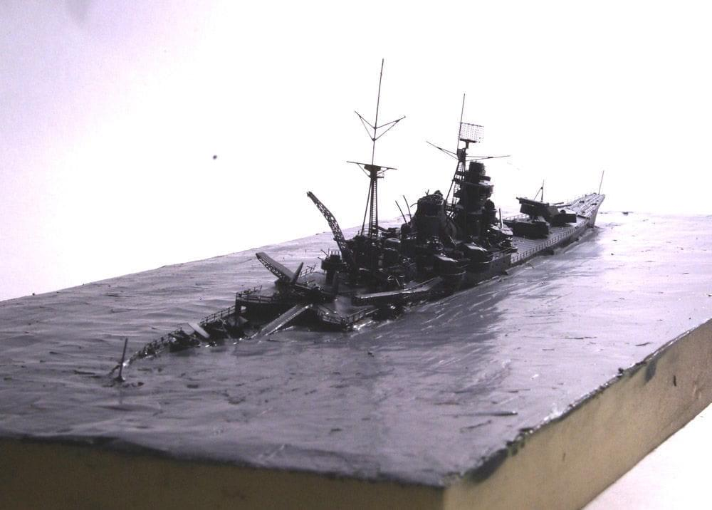 Ijn Tone Cruiser Wreck Work In Progress Maritime