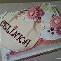 Chrzciny Celinki #chrzest #chrzciny #tort #impreza