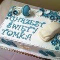 Chrzest święty Tomka #chrzciny #chrzest #tort #chłopiec
