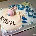Chrzciny Karola #chrzciny #karol #chrzest #tort