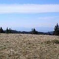 Pasmo Babiej Góry z Hali Turbacz #góry #beskidy #gorce #HalaTurbacz #CzołoTurbacza #turbaczyk