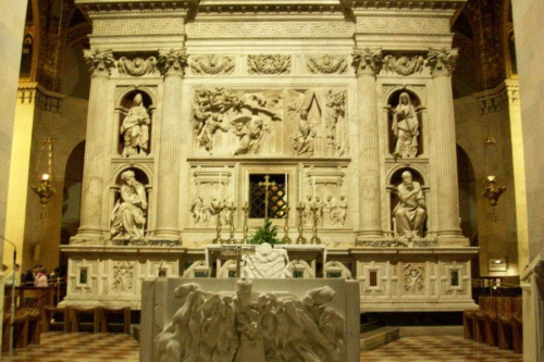 Dom Matki Bożej w Loreto, we Włoszech.