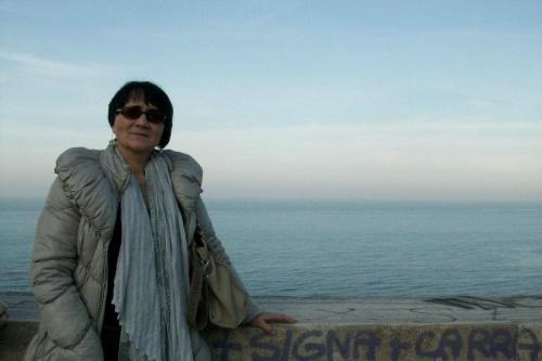 Włochy,widok na Adriatyk.