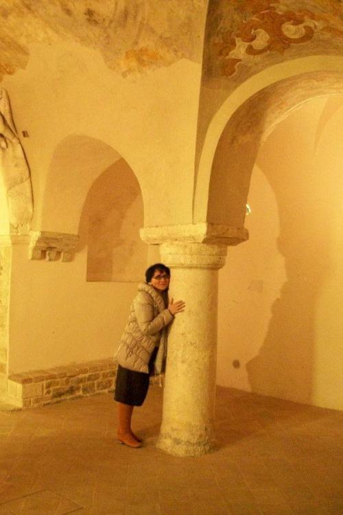 Włochy,Cingoli,dotyk romanizmu,1000 lat!