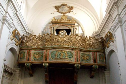 Kościół barokowy w Cingoli.