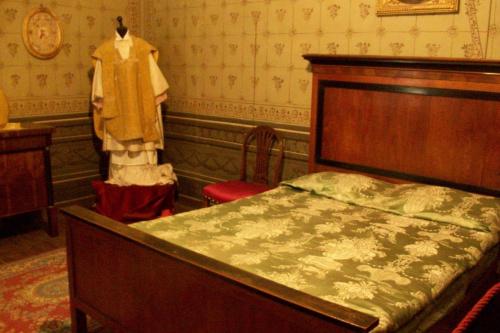 Sypialnia w domu prywatnym papieża Piusa VIII w Cingoli.