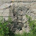 Trafienia w beton bunkra #bunkier #Gościeradów