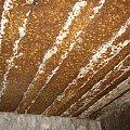 Strop w komorze bojowej #bunkier #Gościeradów