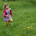 ... :) #Dominika #dzieci #łąka #NaWsi #wiosna