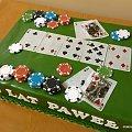 Pokerowy torcik #gra #poker #karty #hazard #żetony