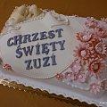 Torcik dla Zuzi #chrzciny #tort #ZuziaKwiaty