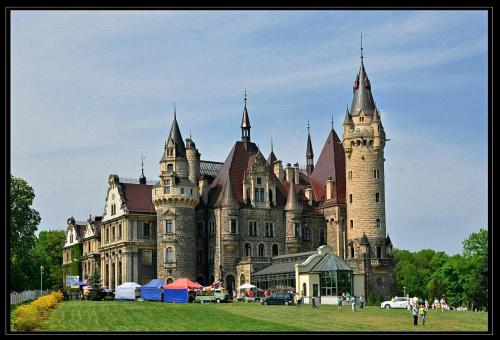 Zamek w Mosznej #Moszna #zamek