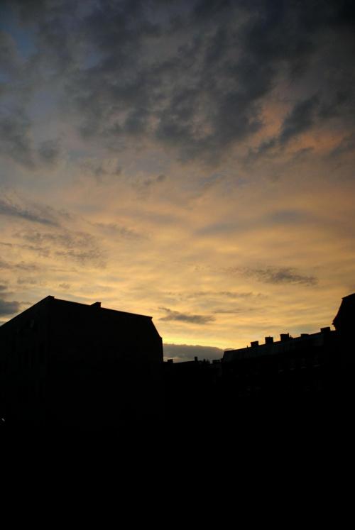 #ZachódSłońca #chmury