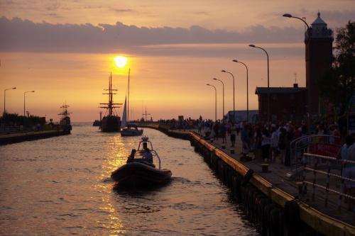 marzy mi się taki widok na żywo :) #morze #Bałtyk #Darłówko #port