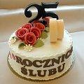 Rocznica 25 Ślubu #RocznicaŚlubu #toty #tort #urodziny #rocznica