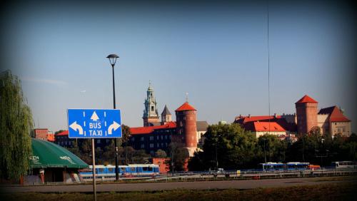 poranne korki w Krakowie (11 września, godz. 9:15)