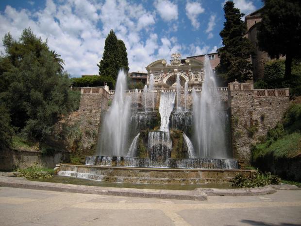 Fontana di Nettuno #Rzym #Tivoli