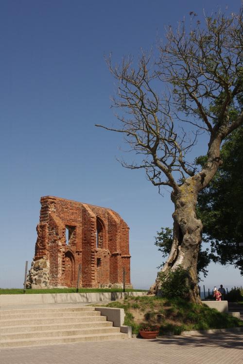 Trzęsacz #kościół #ruiny #Trzęsacz