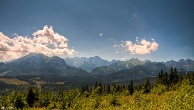 Góry, góry, góry... #arietiss #góry #HDR #krajobraz #Tatry
