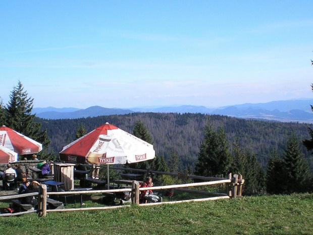 Pieniny, Lubań i Beskid Sądecki spod schroniska na Turbaczu #góry #beskidy #gorce #turbacz #HalaDługa #HalaTurbacz #CzołoTurbacza #turbaczyk
