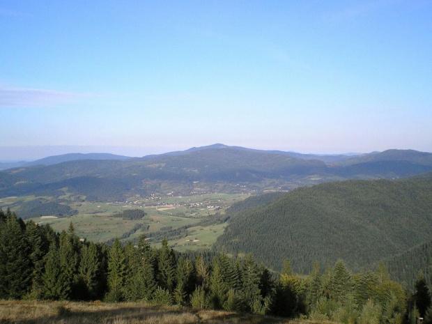 Jasień i Mogielica z Turbaczyka #góry #beskidy #gorce #turbacz #HalaDługa #HalaTurbacz #CzołoTurbacza #turbaczyk