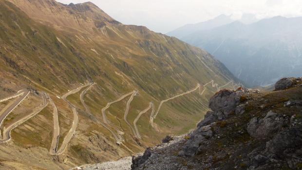#Góry #PołudniowyTyrol #przełęcz #Stelvio #StelvioPass #Trafoi #Włochy
