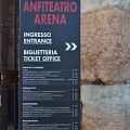 Werona - Arena #Adyga #Arena #balkon #Bazylika #Julii #miasto #Most #Romea #rzeka #Szekspir #Veneto #Verona #Werona #Włochy