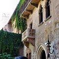 Słynny balkon Julii #Adyga #Arena #balkon #Bazylika #Julii #miasto #Most #Romea #rzeka #Szekspir #Veneto #Verona #Werona #Włochy