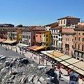 Piazza Brá - to największy i centralny plac w mieście. #Adyga #Arena #balkon #Bazylika #Julii #miasto #Most #Romea #rzeka #Szekspir #Veneto #Verona #Werona #Włochy