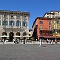 Piazza Bra #Adyga #Arena #balkon #Bazylika #Julii #miasto #Most #Romea #rzeka #Szekspir #Veneto #Verona #Werona #Włochy