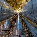 Jesienią-rury się rumienią... #architektura #arietiss #HDR #industrial #jesień #krajobraz #miasto