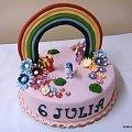 Tęcza nad łaką !!!! #tęcza #KonikiPonny #impreza #urodziny #torty #tort #TortyNaOkazję