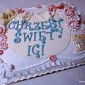 Chrzest Igi #chrzciny #tort #chrzest #TortNaChrzciny