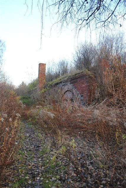 #fort #szczęśliwice #ruiny