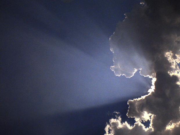 chmura typu obcy #chmura #promienie #obcy