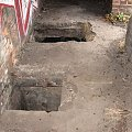 Wnętrze bunkra, tuż przy wejściu #bunkier #TwierdzaKraków