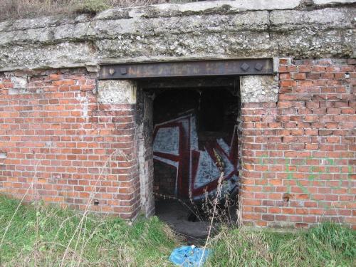 Wejście do bunkra #bunkier #TwierdzaKraków