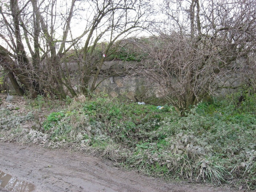 Widok bunkra od strony drogi #bunkier #TwierdzaKraków
