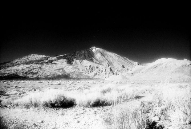 Pico del Teide #CanonEos50E #EfkeIR820AURA #ParqueNacionalDelTeide #PicoDelTeide #PicoViejo #wulkan
