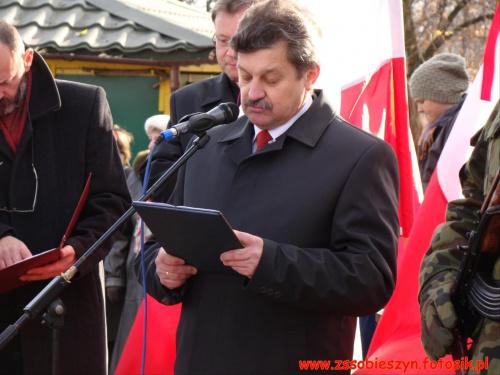 Powiatowe Obchody Święta Niepodległości - zdjęcia udostępniła Justyna Marchel #Sobieszyn #Brzozowa #Ryki