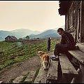 w bacówce życie wolno płynie . #góry #ludzie #praca