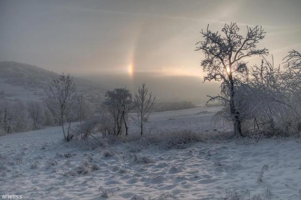 Dzień po końcu świata... #arietiss #HDR #krajobraz #zima